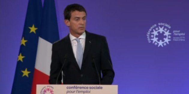 En clôture de la conférence sociale Manuel Valls précise la réforme du code du