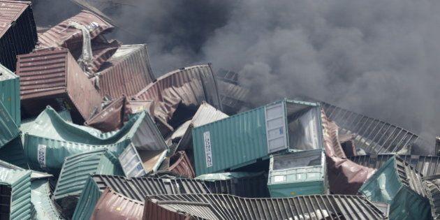 Tianjin: les images de la ville dévastée après la