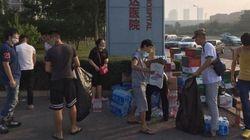 À Tianjin, l'élan de solidarité pour les