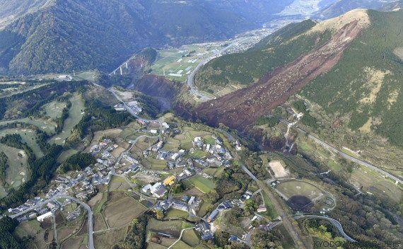 PHOTOS. De nouveaux séismes frappent le Japon et font au moins 41