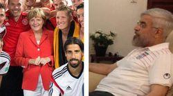 Merkel félicite son équipe dans les vestiaires et Rouhani le fait de son