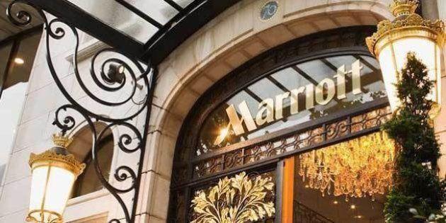 L'hôtel Marriott des Champs-Elysées racheté 344 millions d'euros par un fonds
