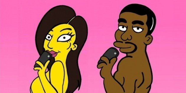 PHOTOS. Kim Kardashian et Kanye West en
