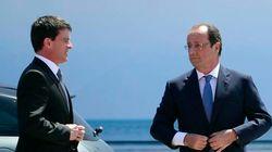EXCLUSIF - La popularité de Hollande et Valls frémit à la hausse en