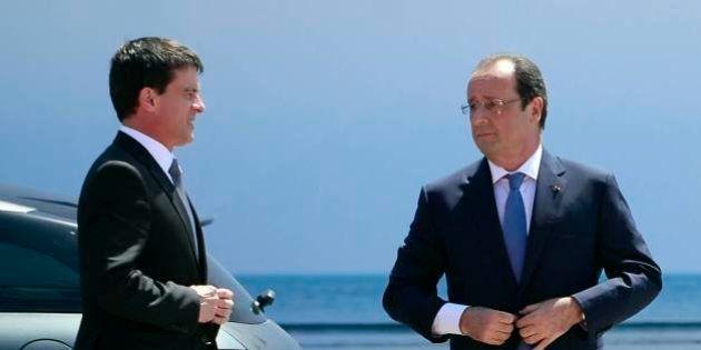 Popularité: Hollande et Valls se redressent tant bien que mal en octobre