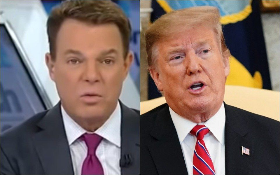 Shep Smith and Trump