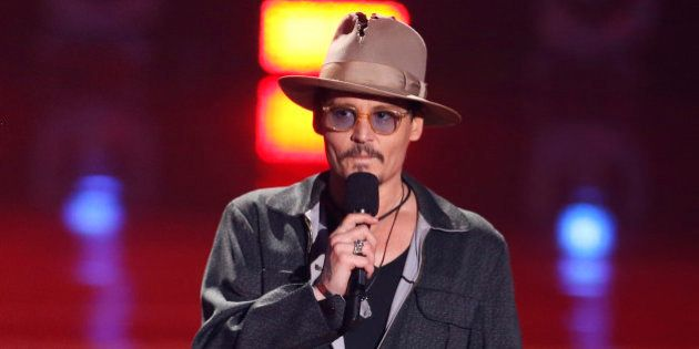 Johnny Depp et Vanessa Paradis: