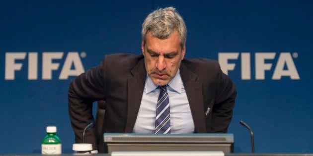 Fifa: Walter De Gregorio, le directeur de la communication, démissione (après avoir fait une mauvaise