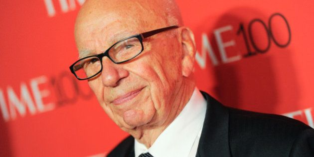 Rupert Murdoch attends the TIME 100 Gala, celebrating the 100 most influential people in the world, at...