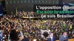 Un chant de supporters résonne à l'assemblée