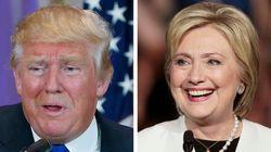 Victoires écrasantes de Trump et Clinton aux primaires de New