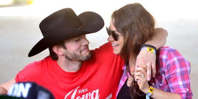 Le bébé de Mila Kunis et Ashton Kutcher est né, c'est une petite