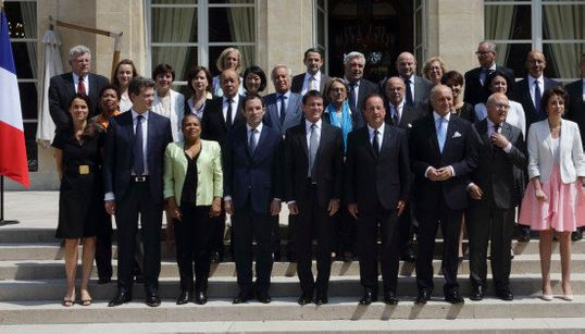 La photo du gouvernement (presque) au