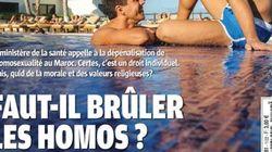 La Une homophobe de Maroc Hebdo fait