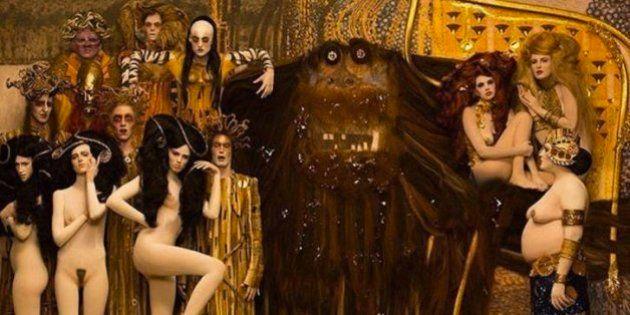 PHOTOS. Des oeuvres de Gustave Klimt prennent vie pour soutenir la recherche sur le