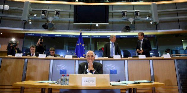 Moscovici auditionné à Bruxelles : malmené par les députés européens, il menace de sanctionner la