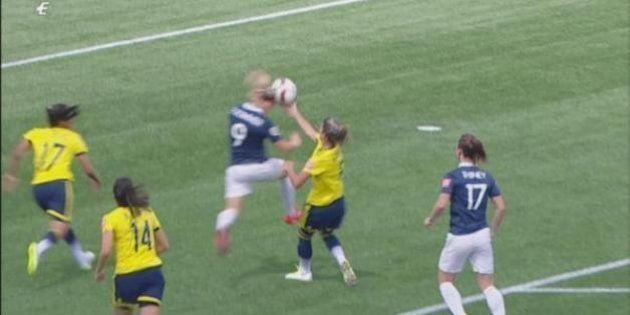 VIDÉO. France - Colombie: le résumé (et la main évidente) du match de Coupe du Monde féminine