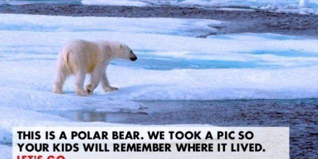 PHOTOS. Greenpeace : la campagne de fausses publicités détournées menée contre Shell