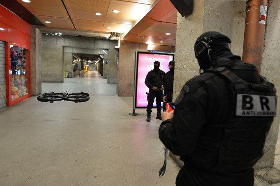 VIDÉO. Exercice antiterroriste grandeur nature des BRI, GIGN et Raid à la gare Montparnasse à
