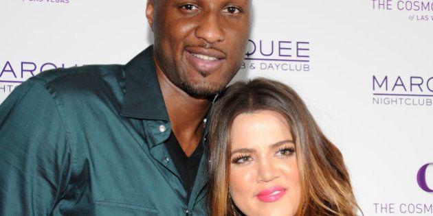 Khloe Kardashian, Lamar Odom at Khloe Kardashian and Lamar Odom Host All-Star Weekend Event, Kevin Hart's...