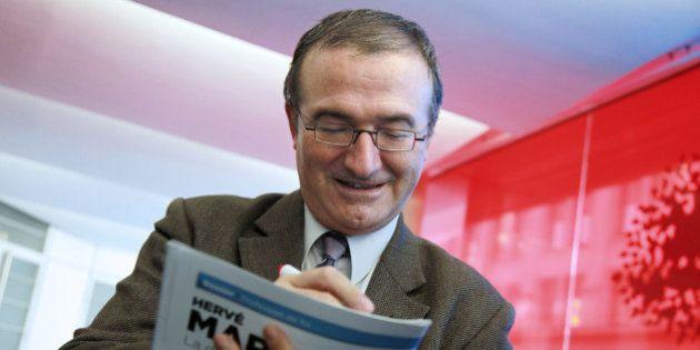 Hervé Mariton s'offre un sondage Ifop pour promouvoir sa
