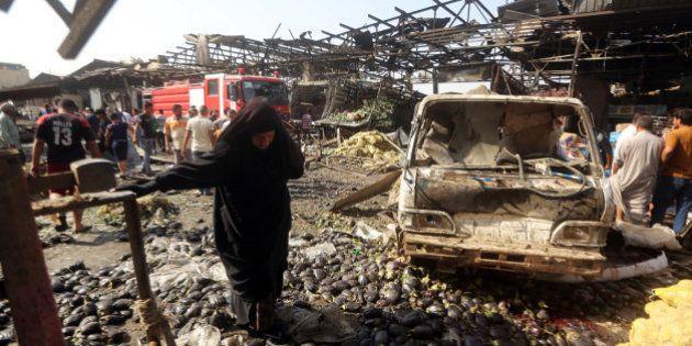 Une cinquantaine de morts dans un attentat à Bagdad revendiqué par