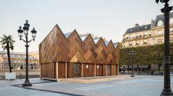 Ce bâtiment est entièrement construit en matériaux de