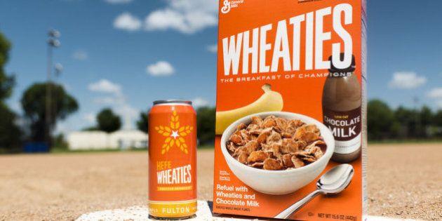 La marque de céréales Wheaties crée sa marque de