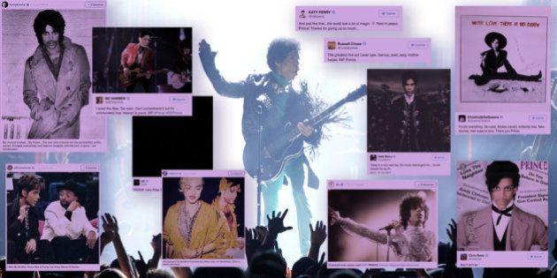 Prince est mort, les hommages