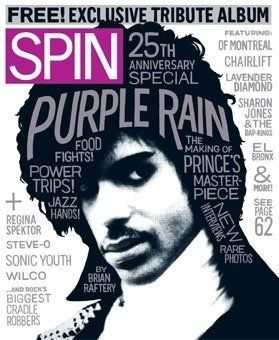 L'androgynie sexy de Prince et de Purple