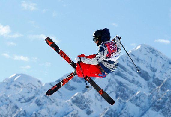 Gus Kenworthy, médaillé olympique à Sotchi, fait son coming