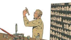 Faux adultère, fortune et dynamite: l'histoire du Nobel racontée en comics (et en 4