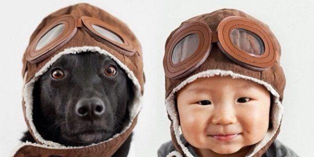 Découvrez des photos trop mignonnes d'un bébé avec son