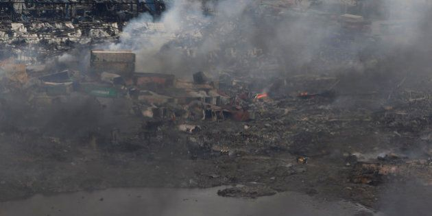 Tianjin: le bilan passe à plus de 100 morts, les habitants de la zone des explosions