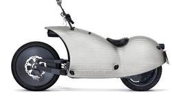 Non, cette moto futuriste n'a pas été montée à