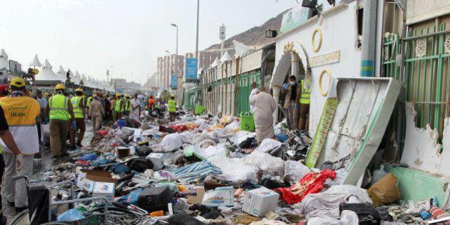 La bousculade de La Mecque a fait au moins 2236 morts, trois fois plus que le bilan