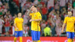 Balayé à Bilbao, le Barça dit (presque) adieu à ses rêves de