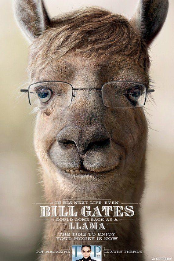 Bill Gates, Mark Zuckerberg et Donald Trump