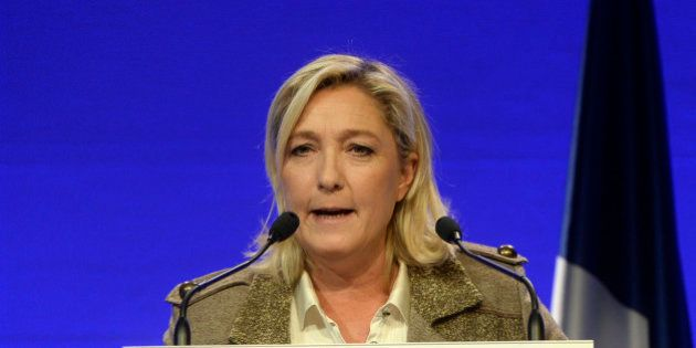 Marine Le Pen visée par la justice pour son micro-parti baptisé