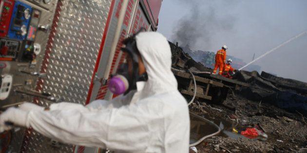 Tianjin: craintes de contamination, étendue des dégâts... ce que l'on sait quatre jours après le