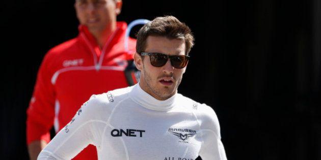 Jules Bianchi: le pilote de F1 français victime d'un grave accident au GP du Japon dans un