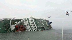 300 disparus dans le naufrage d'un ferry en Corée du