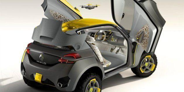 PHOTOS. Renault Kwid : la voiture survolée par un
