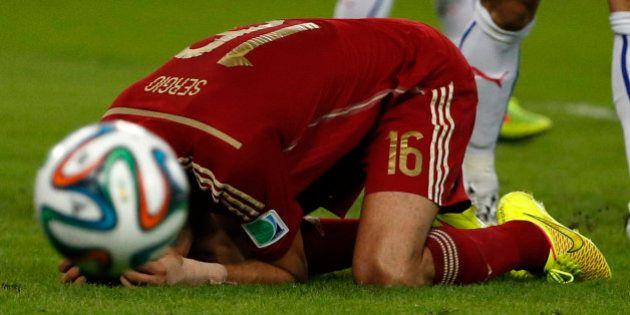 VIDÉOS. Coupe du monde 2014: l'Espagne éliminée après sa défaite contre le