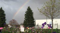 Un arc-en-ciel s'est invité au-dessus des studios de Prince le jour de sa