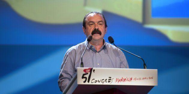 Philippe Martinez réélu à la tête d'une CGT en