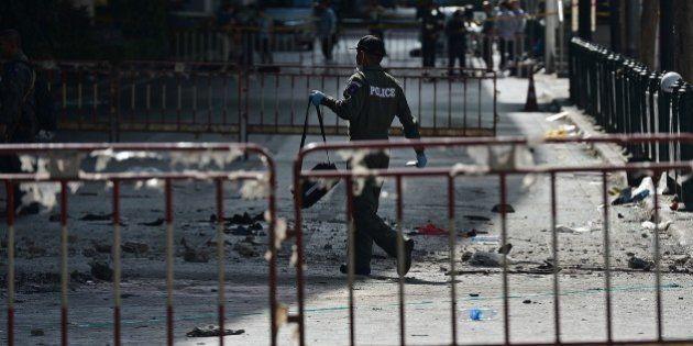 Bangkok: l'attentat a fait au moins 20 morts, un suspect