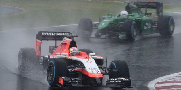 Jules Bianchi : état