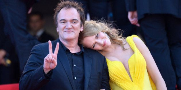 Uma Thurman et Quentin Tarantino