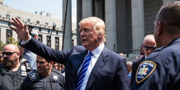 Donald Trump recalé comme juré à l'issue de la sélection à la Cour suprême de New
